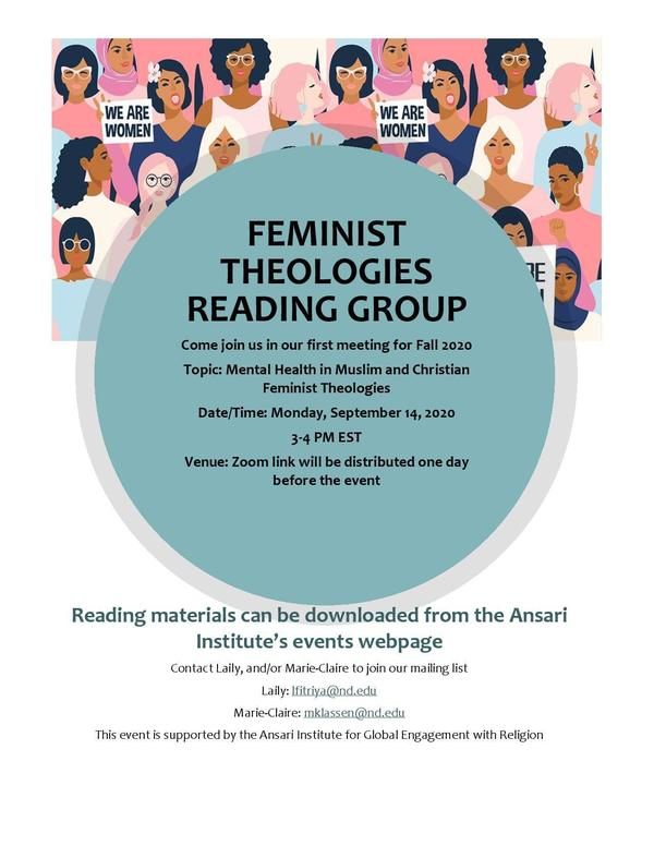 Feminist Theologies Reading Group