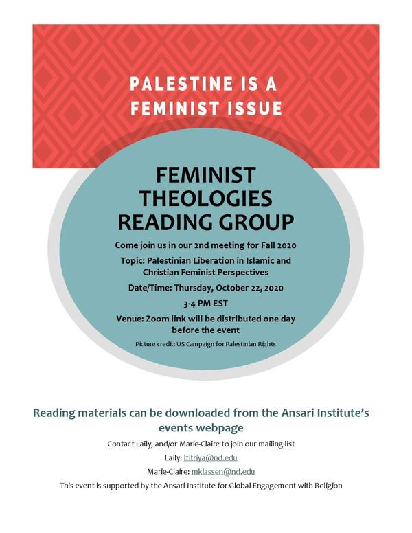 Feminist Theologies October Poster Page 001